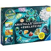 Ravensburger 18883 - ScienceX: Kristalle züchten und Edelsteine