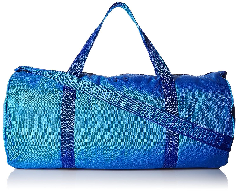 Under Armour UA Favorite Barrel Duffel, Bolso maletín para Mujer, Azul (Mediterranean), 21x27x49 cm 1277406