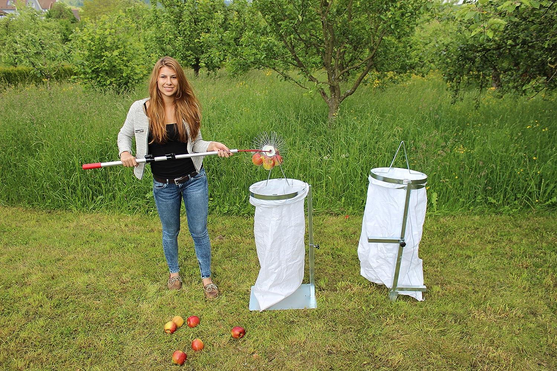 /'Saco de manzanas plana sacki con placa de metal pesado/ /El soporte profesional para bolsa para /Bag Man/ /El Asistente perfecto para su coleccionistas Roll de manzanas de flash fabricado en Alemania/