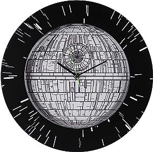 Seven Times Six Star Wars Death Star Hyper Space Wall Clock