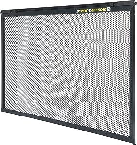 Lippert Components 859794 Screen Defender RV Entry Door Aluminum Screen Protector, 30-inch