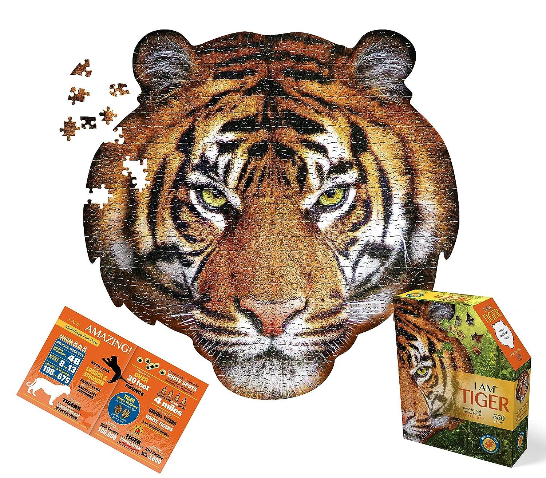 amazon com madd capp puzzle i am tiger toys u0026 games