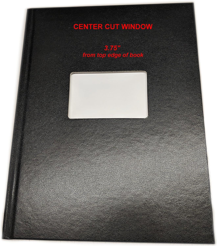 """Unibind (10個) 5 mm 25 – 40シート容量ブラックSteelbookレターサイズ8.5 """" by 11 """" (ケースBound on 11 """"エッジ)"""