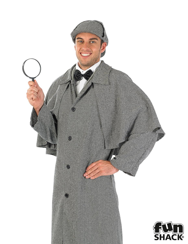 Sherlock Holmes - Adult Kostüm - Medium 48-50 - 48-50 Medium daee01