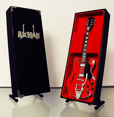 Marty McFly Red Gibson ES-345: réplica de guitarra en miniatura ...