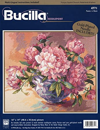 Bucilla Creative Needlecraft Kit 1941 Springtime Bunny Collection Decorator Pillow Yellow Green   16 \u201c Kitschy Wildlife Cottage Cabin