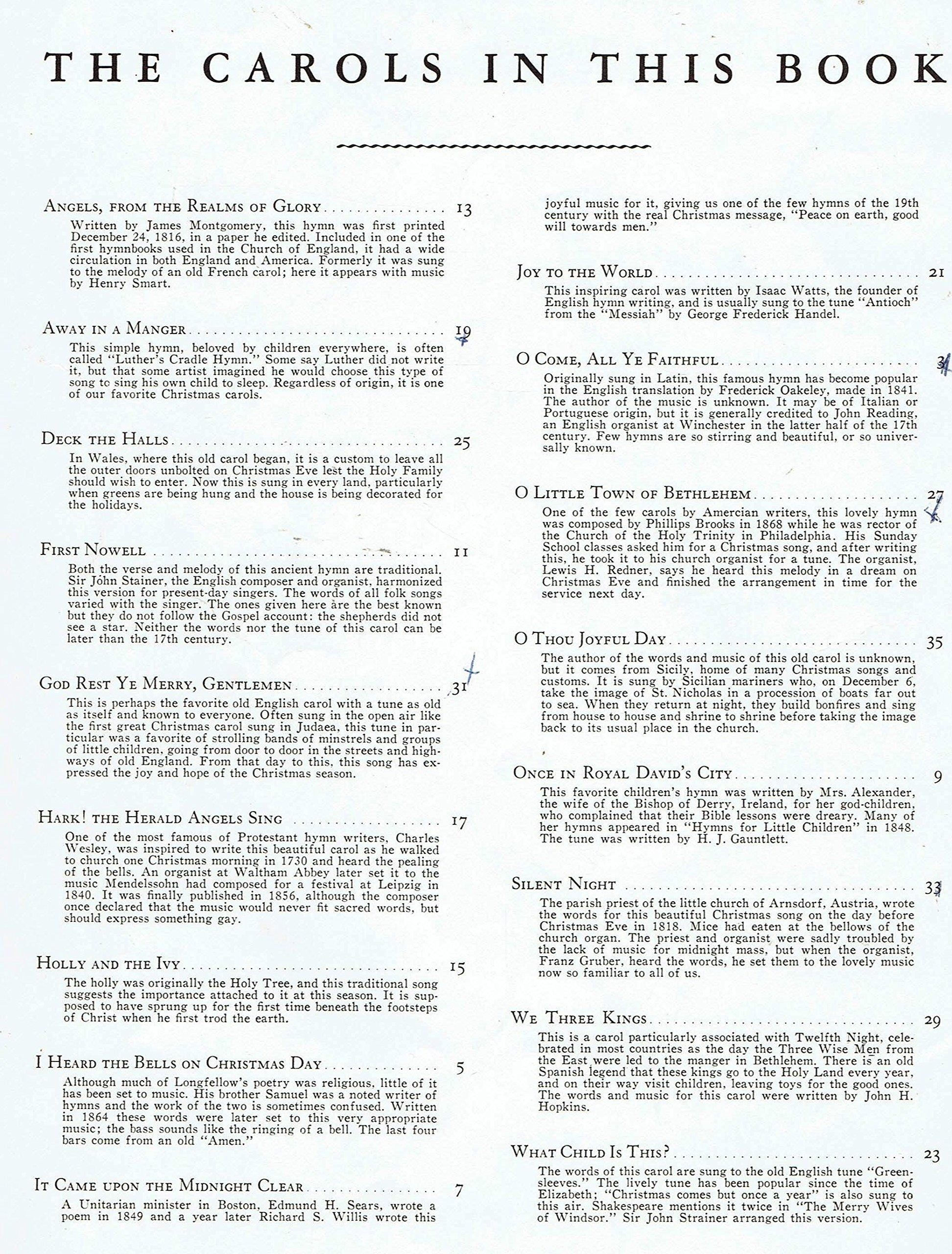 CHRISTMAS CAROLS - 2965 WHITMAN: KARL SCHULTE, F.D. LOHMAN: Amazon ...