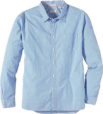 Dockers - Camisa Slim fit de Manga Larga para Hombre, Talla ...