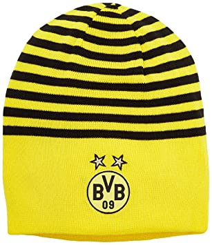 aeb7cbdda1a Puma BVB Reversible Beanie  Amazon.co.uk  Sports   Outdoors