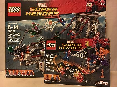 Amazon.com: LEGO Super Heroes Spider-Man: Web Warriors Ultimate ...