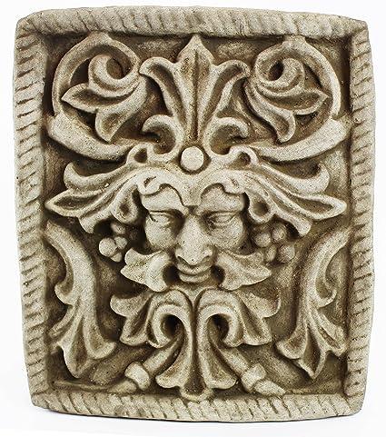 Amazon Com Fleur De Lis Garden Ornaments Llc Green Man Concrete