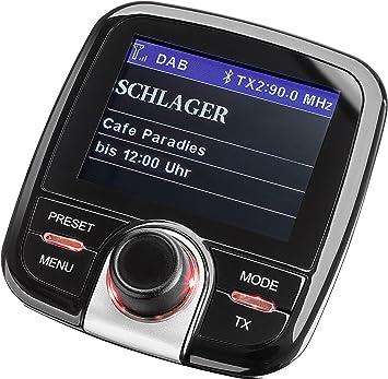 Dual Dab Ca 10 Kfz Adapter Automatischer Sendersuchlauffunktion Bluetooth Und Aux In Anschluss Farbdisplay Schwarz Heimkino Tv Video