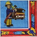 Amscan International 33 cm Fireman Sam Luncheon Napkins