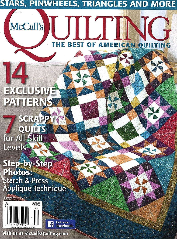 McCall's Quilting: Amazon.com: Magazines : quilting arts subscription - Adamdwight.com