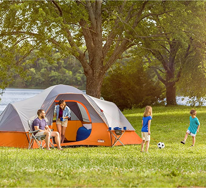 CORE 9 Person Extended e-port Dome Tent