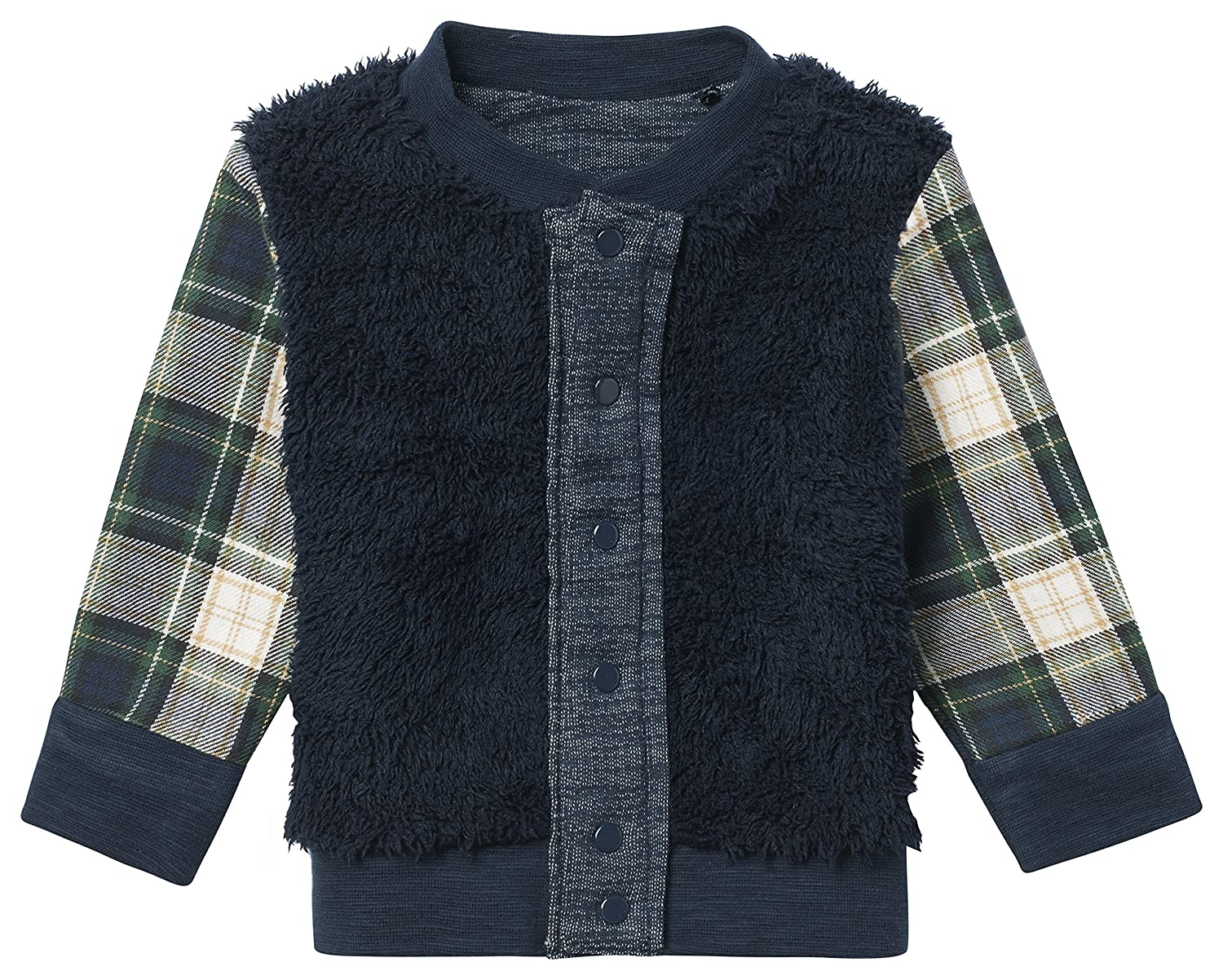 Noppies Baby-Jungen B Cardigan Sweat Rev Boxford Strickjacke