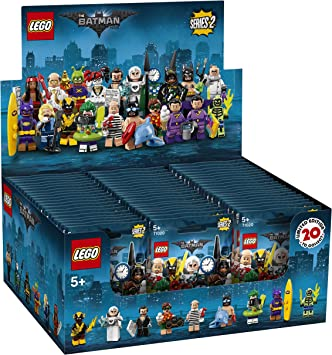 minifigures lego 2018