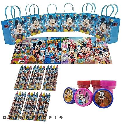 Amazon.com: Disneys Mickey Mouse - Bolsa de regalo con ...