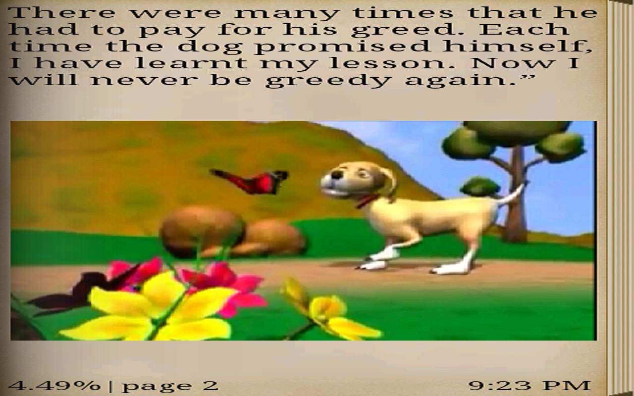 The Greedy Dog Story In English With Moral