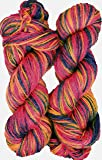 Vardhman Multicolor Wool Crochet Yarn Dyed 200 GM