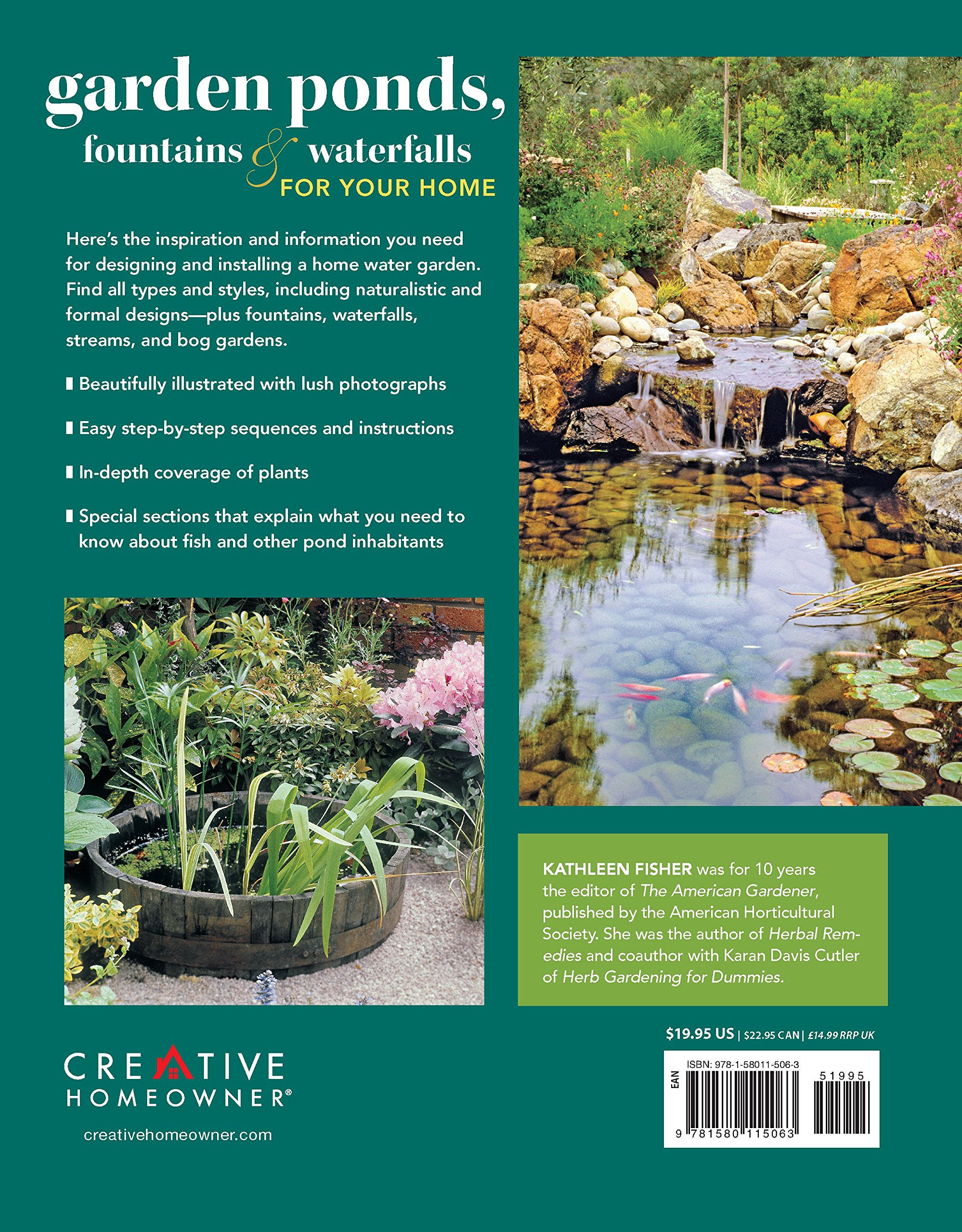 Garden Ponds, Fountains & Waterfalls for Your Home: Designing ...