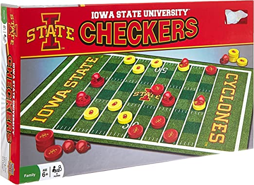 MasterPieces NCAA Iowa State Cyclones Checkers Board Game