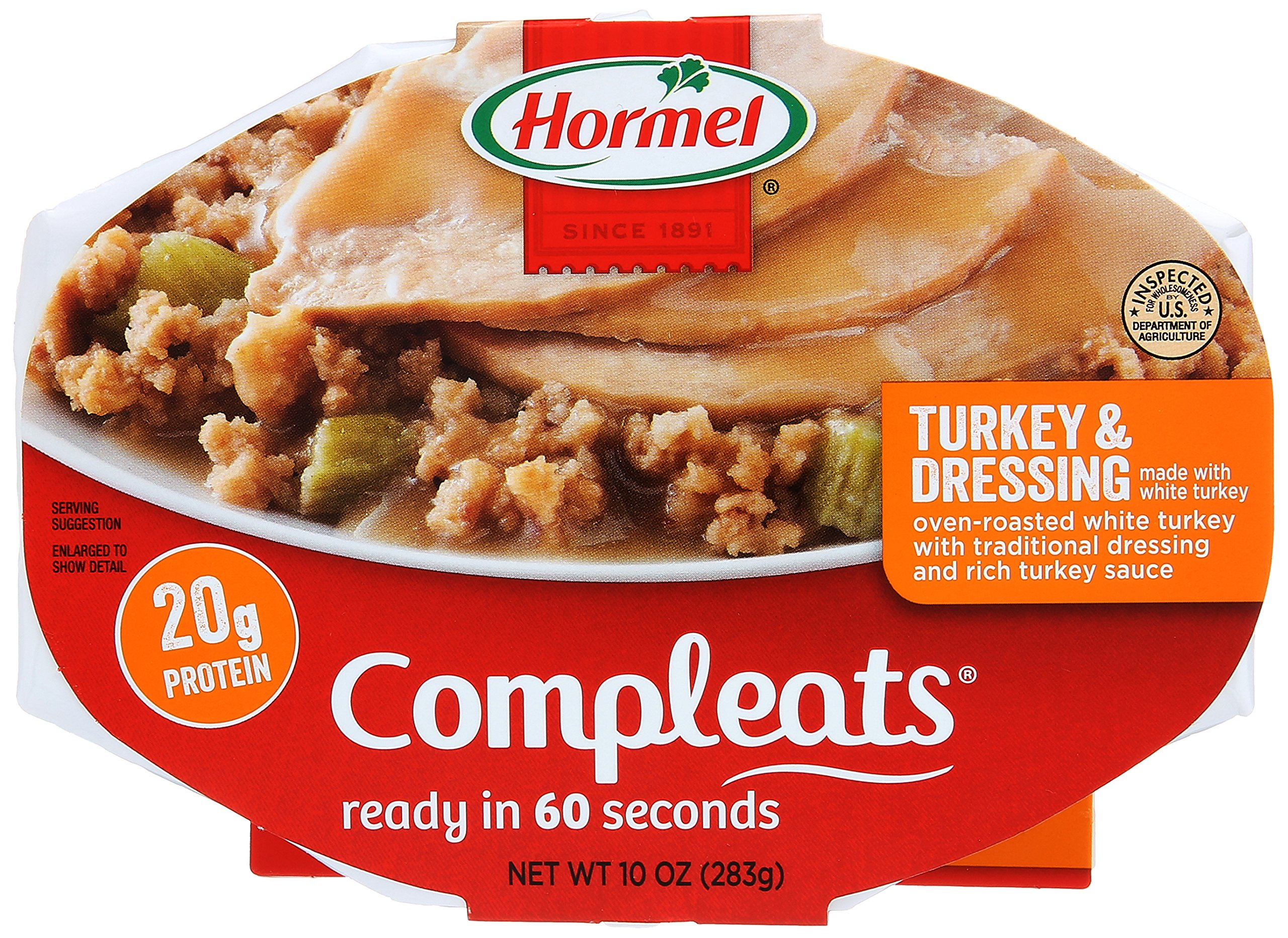 Hormel Compleats Meals Turkey & Dressing-10 oz by Hormel
