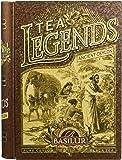 Basilur Tea Book Loose Leaf Tin Caddy Legends Ancient Ceylon, 100 Gram