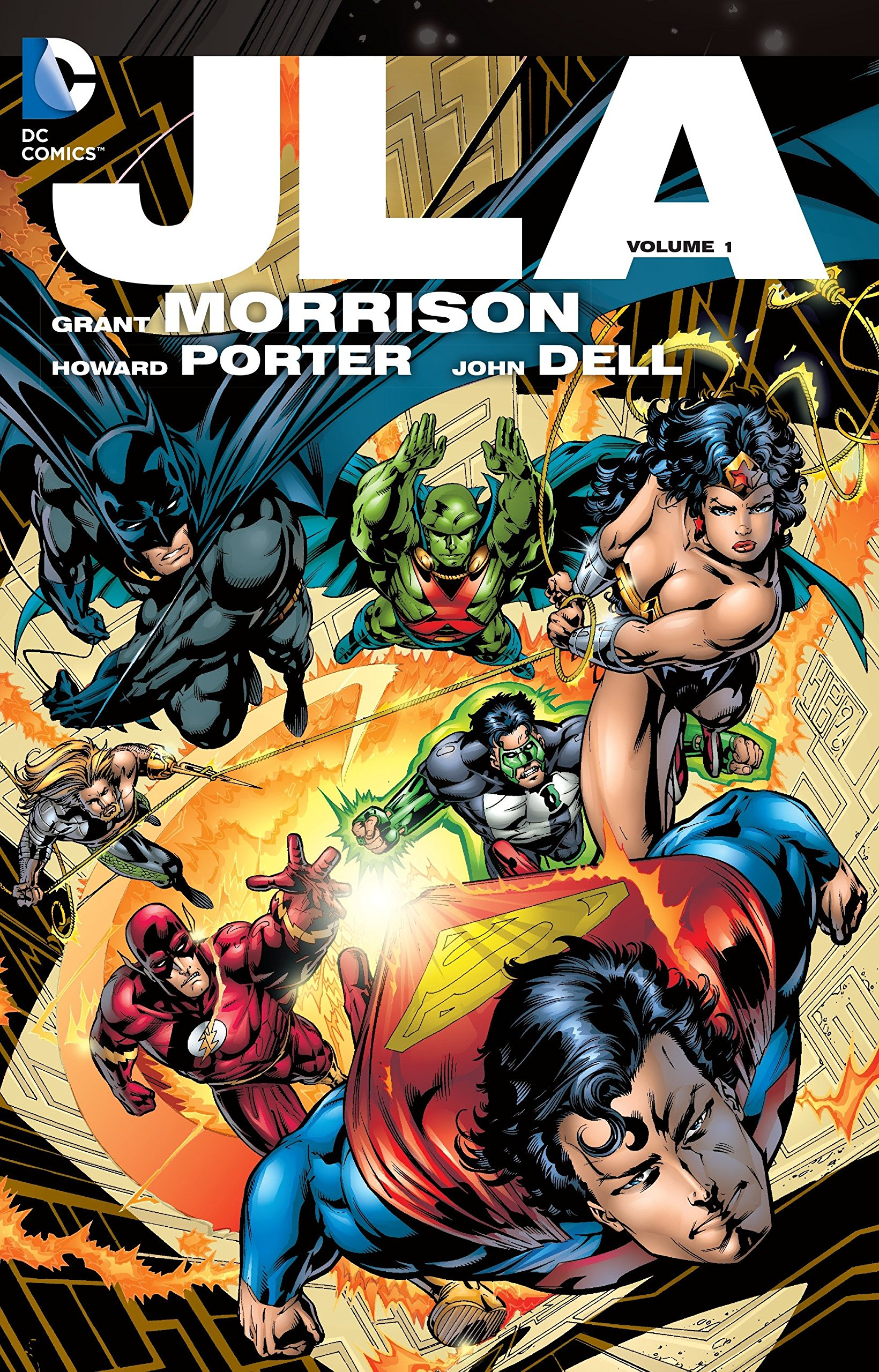 JLA: The Deluxe Edition, Vol. 1 by DC Comics