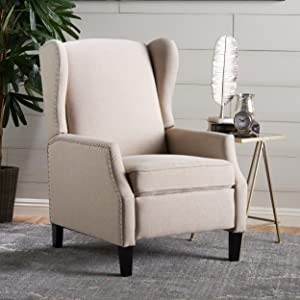 Christopher Knight Home 301081 Westeros Recliner Chair, Wheat