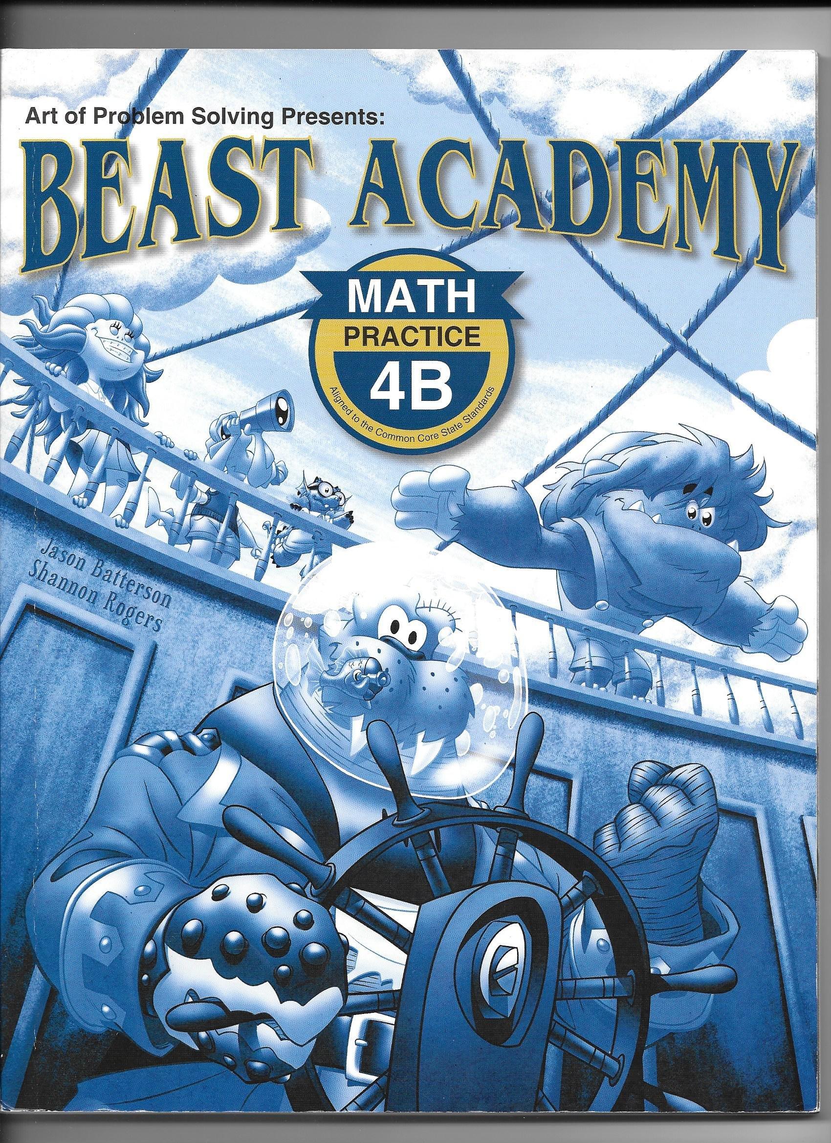 Download Beast Academy Practice 4B pdf