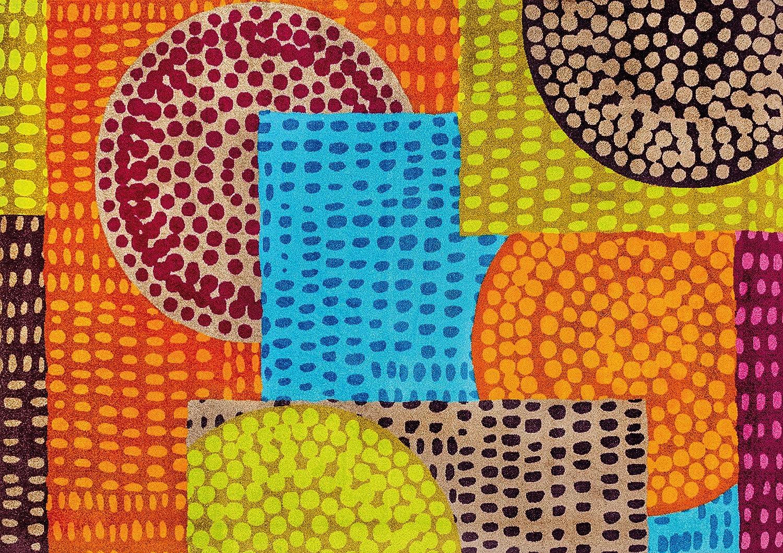 Schmutzfangmatte Wash amazon de wash fußmatte ethno pop 70x190 cm