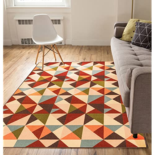 8x10 Area Rugs Bright Colors Amazon Com