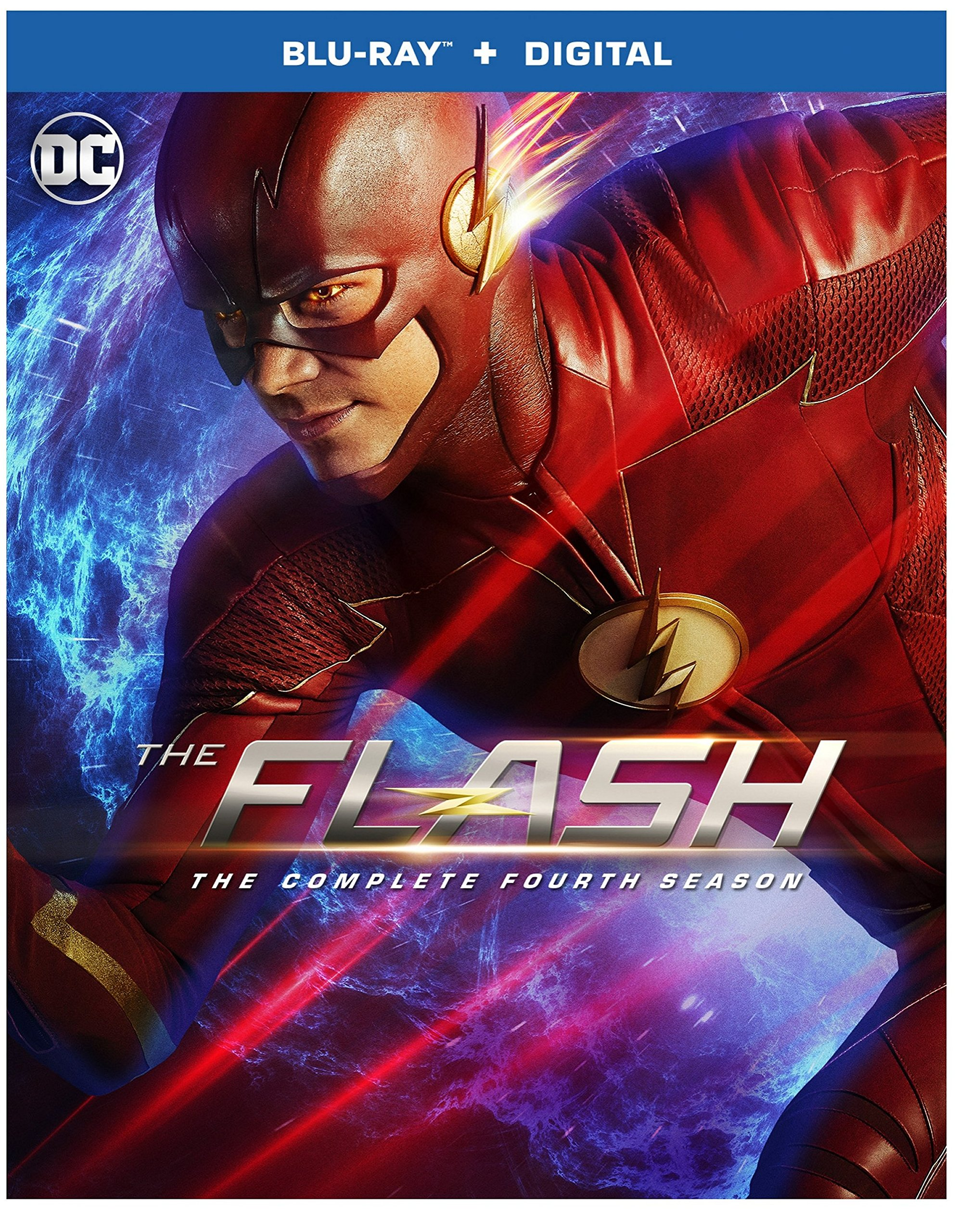 Blu-ray : The Flash: The Complete Fourth Season (dc) (Boxed Set, 4PC)