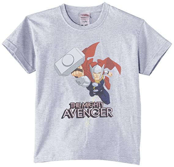 Marvel Avengers Assemble Thor The Mighty Avenger Camiseta, Grau ...