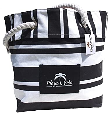 Tote Bag - WHITE STRIPES by VIDA VIDA 9v5fL1KF