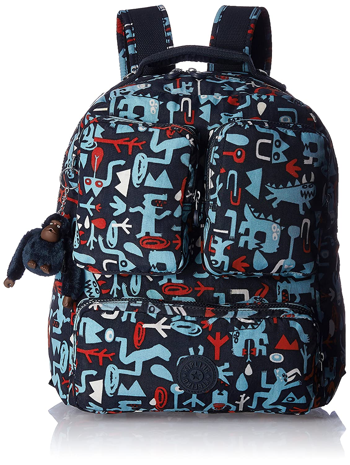 12bc7ccc387 Kipling ASTA - Backpack Monster Print (K13761L1100F): Amazon.in: Bags,  Wallets & Luggage