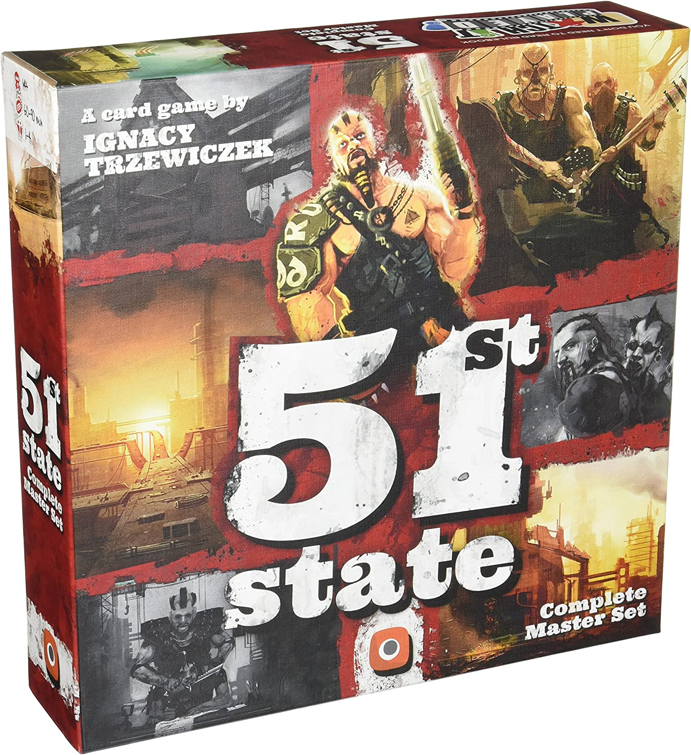 51st State Master Set Board Game: Amazon.co.uk: Toys & Games