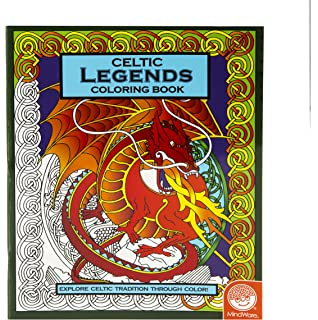celtic legends coloring book - Mosaic Coloring Book