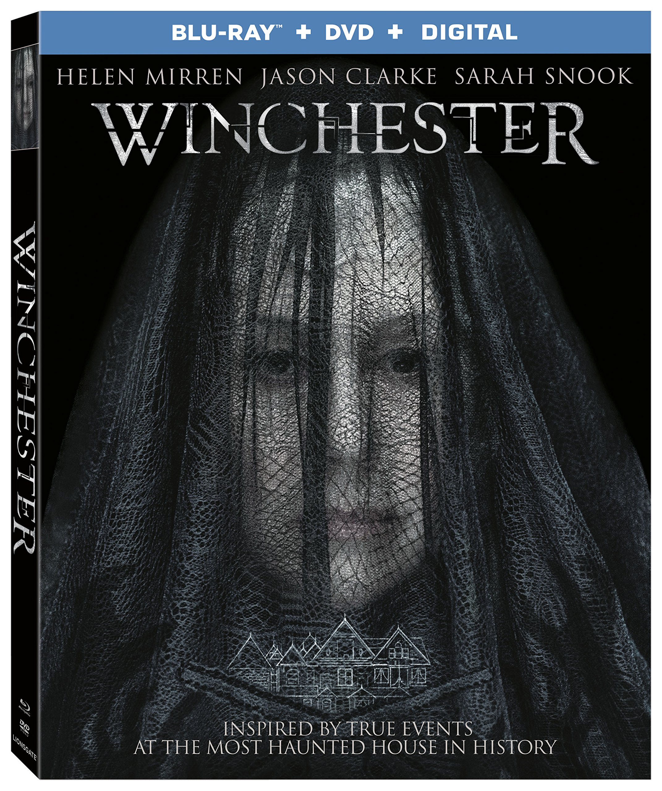Blu-ray : Winchester (With DVD, 2 Pack, 2PC)