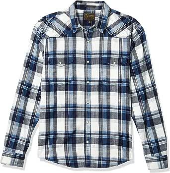Lucky Brand Men's Long Sleeve Button Up