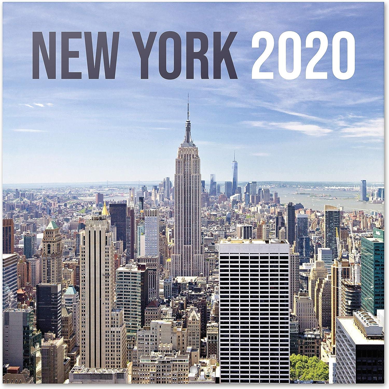 ERIK - New York Colour 2020 Wall Calendar, 16 Months, 30 x 30cm