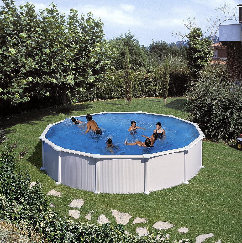 Pool-Innenfolie für runde Pools Durchmesser 450-460 cm x ...