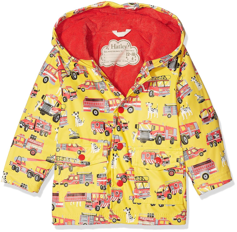 Hatley Baby-Jungen Regenmantel Mini Printed Raincoat