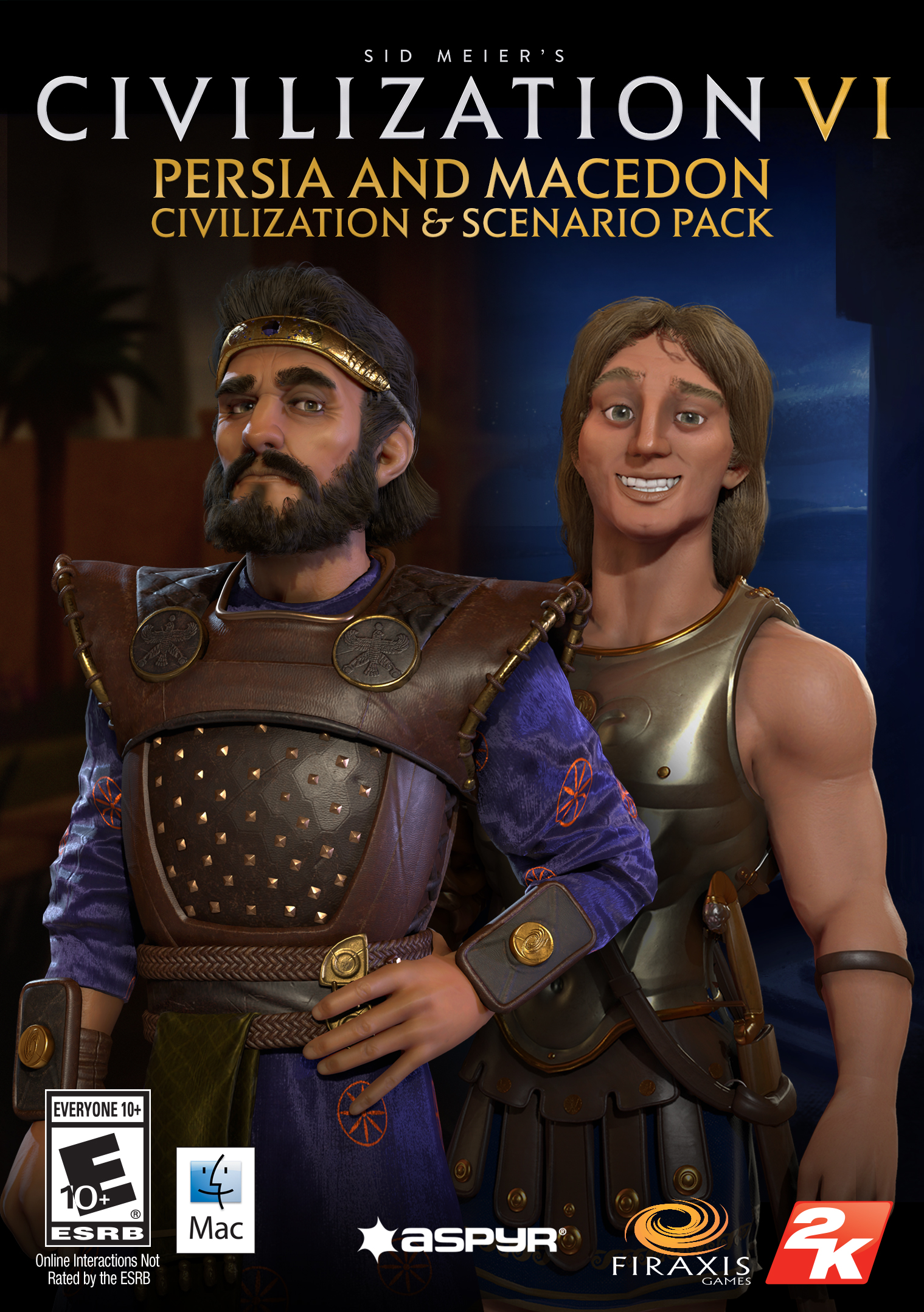Sid Meier?s Civilization VI - Persia and Macedon Civilization & Scenario Pack  (Mac) [Online Game Code]