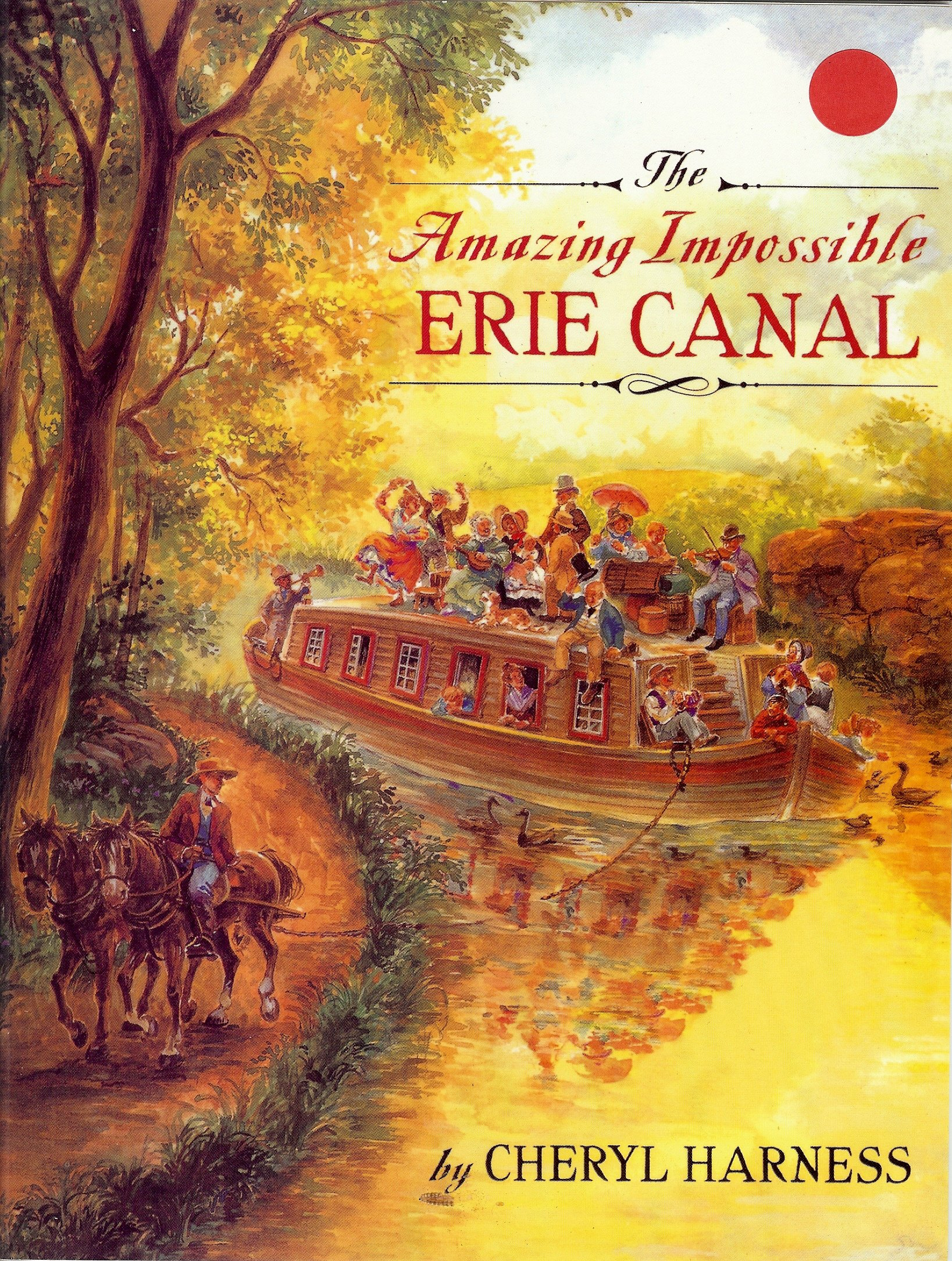 Download Houghton Mifflin Mathmatics: Literature Library Reader The Amazing Impossible Erie Canal (Hm Math 2005) pdf epub