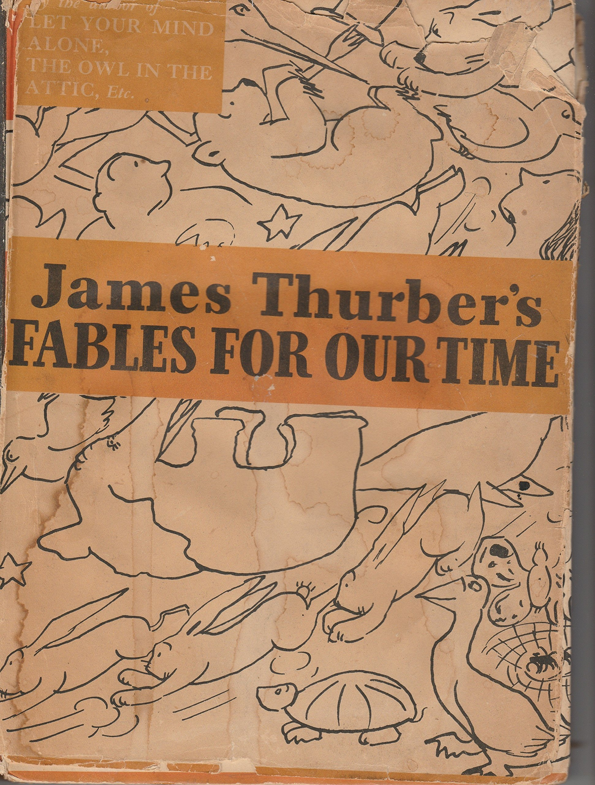Fables Our Time James Thurber product image
