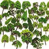 Sofiya Toys 樹木模型 Nゲージ 用 ( 2~12cm 大小混載 40本 セット ) HTN-L1002 (混載40本セット)