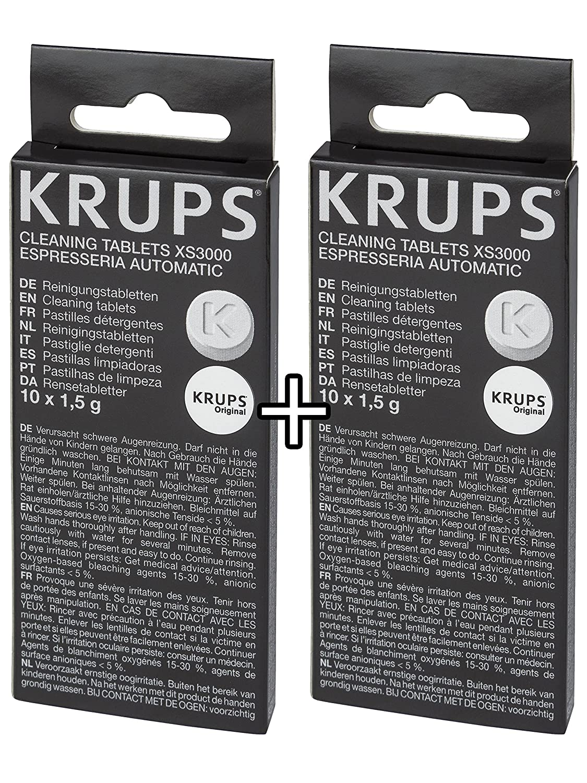 Amazon.com: KRUPS XS3000 - Tabletas de limpieza para ...