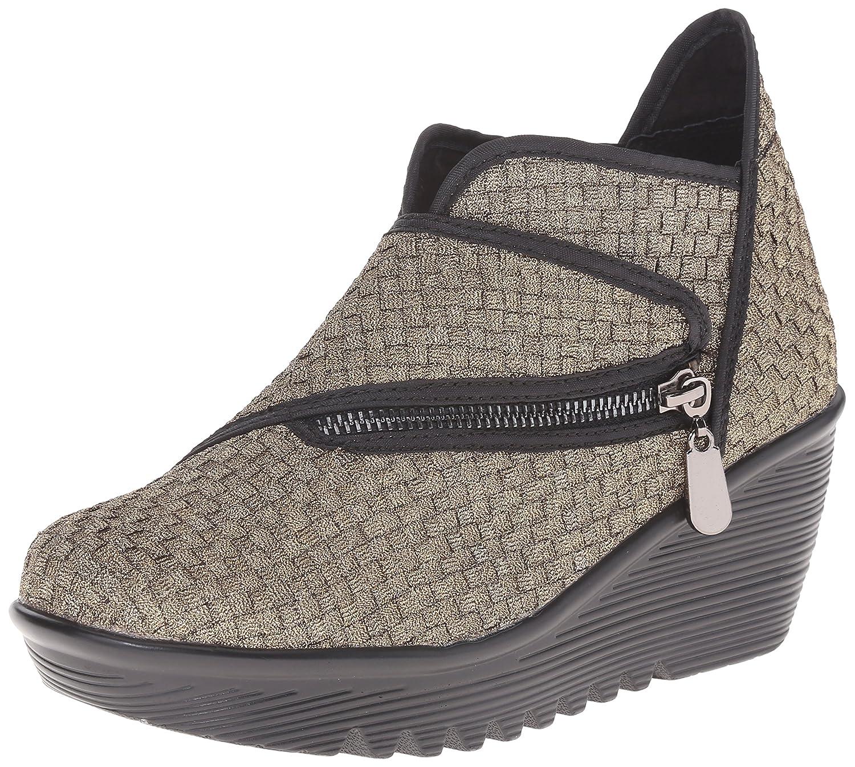 Bernie Mev Women's Zig Zag Ankle Bootie B00WDWANNM 36 EU/36 EU = 5.5-6 M US|Bronze